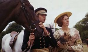 Mark Burns et Vanessa Redgrave dans The Charge Of The Light Brigade de Tony Richardson.