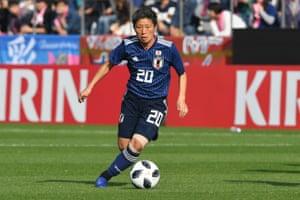 Kumi Yokoyama could give Japan an extra cutting edge