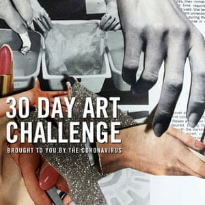 30 Day Art Challenge, collage by Danielle Krysa @thejealouscurator.