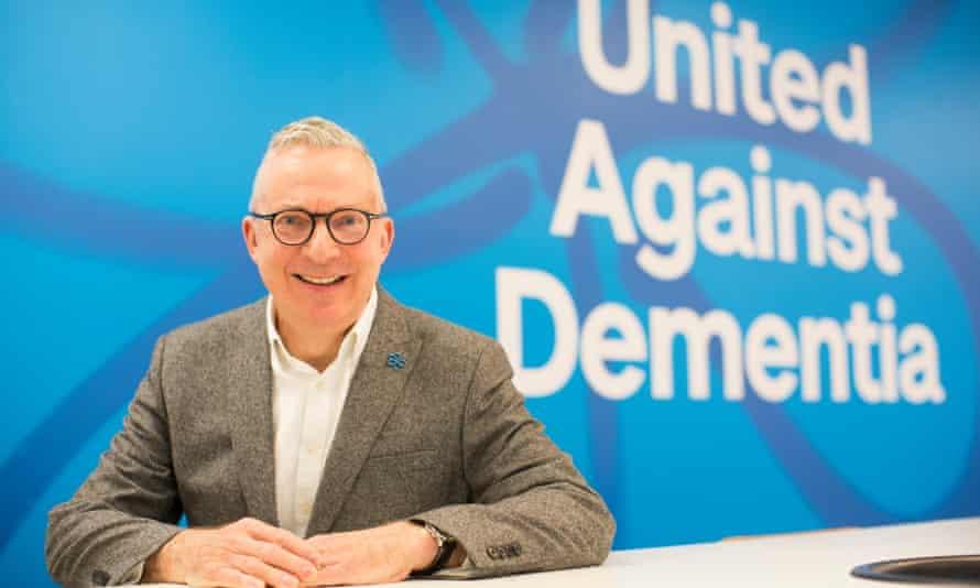 Alzheimer's Society chief executive Jeremy Hughes