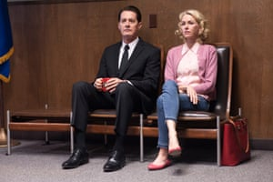Kyle MacLachlan and Naomi Watts in the 'extraordinary' Twin Peaks: A Limited Event Series.