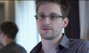 Edward Snowden filmed in Hong Kong by Poitras.