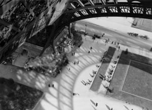The shadow of the Eiffel Tower, Paris, 1929