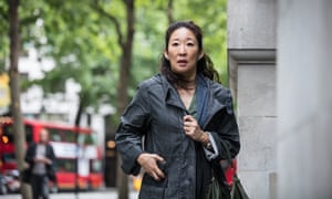Actor Sandra Oh in TV series Killing Eve