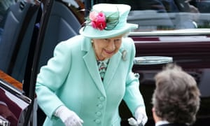 The Queen arrives at Royal Ascot,