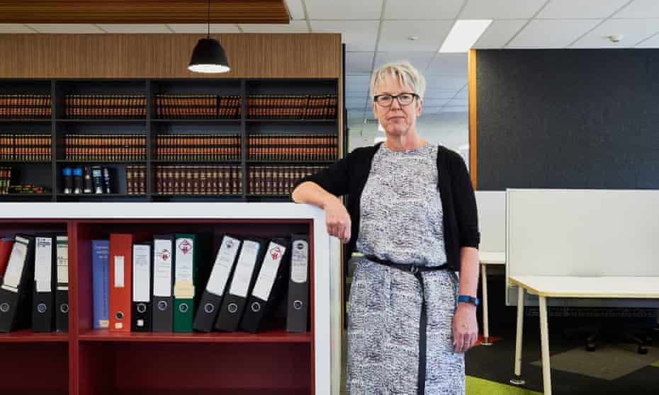 Helen Gibbons, secretary for United Voice.