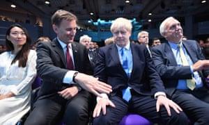 Boris Johnson snubs Jeremy Hunt