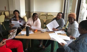 Care workers training at Hotel Rembrandt, in Weymouth.