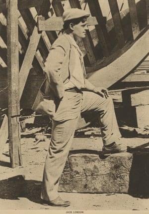 Undated photograph of Jack London.
