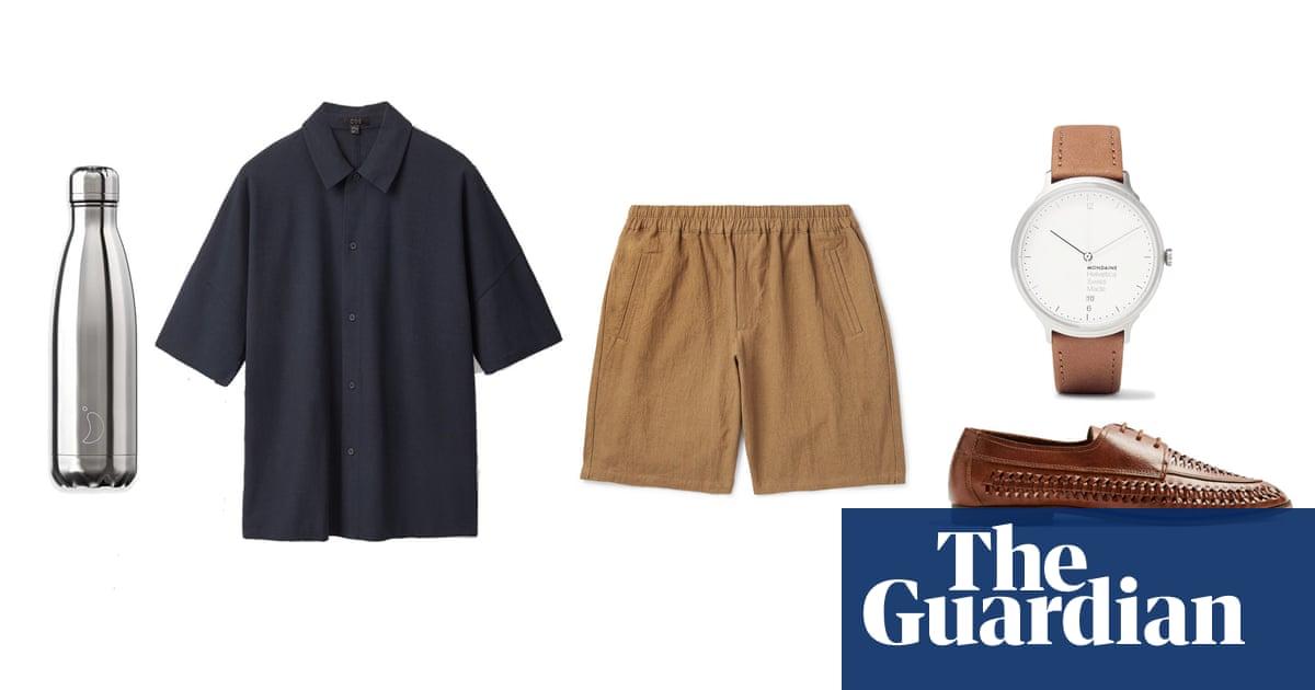 Hot desking: heatwave office dressing for men – in pictures