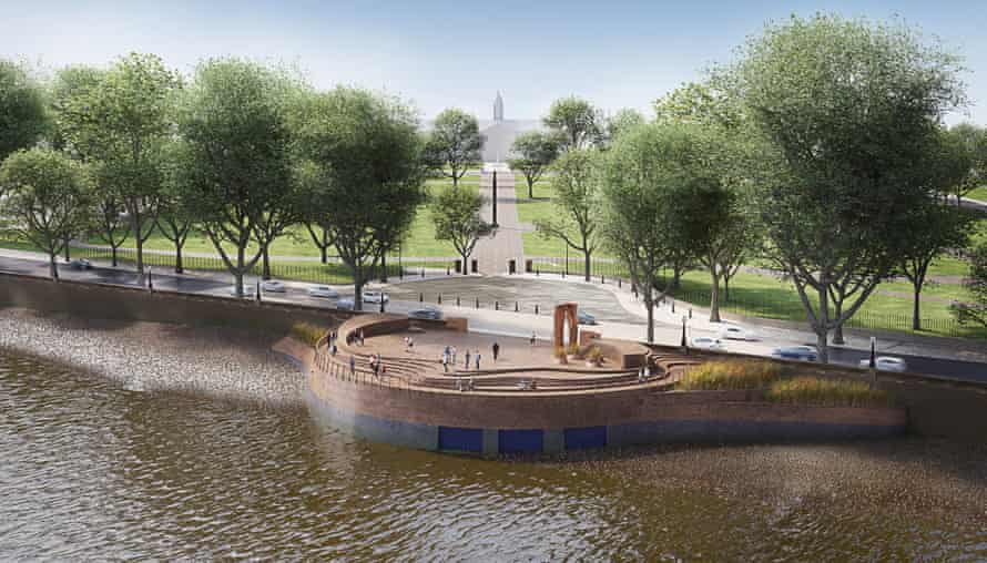 Tideway Tunnel project: the design for one of the new areas of public realm at Chelsea Embankment