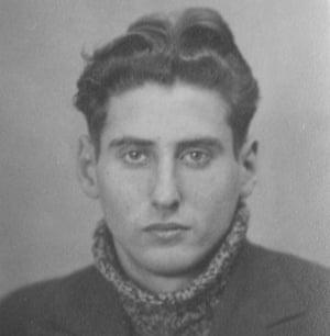 Mischka aged 21 in 1943.