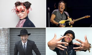 Treats in store ... Björk, the Boss, Lady Leshurr and David Bowie