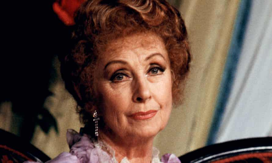 Danielle Darrieux in a stage version of Gigi in 1985.