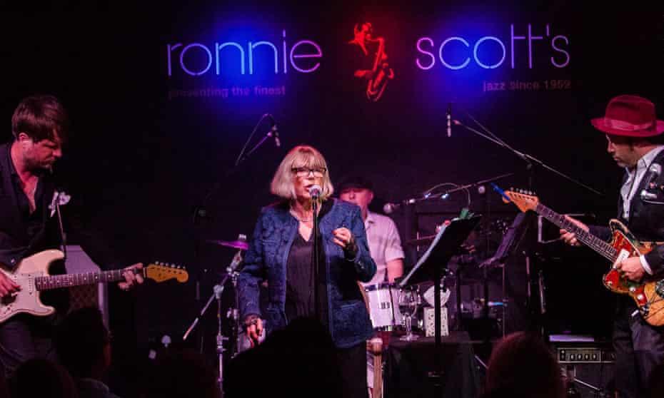 Marianne Faithfull at Ronnie Scott's, London
