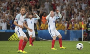 Harry Kane, Adam Lallana and Wayne Rooney react – along with several hundred supporters – as a chance goes begging.