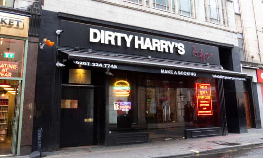 The former venue is now the Nova Club below Dirty Harry's of Soho