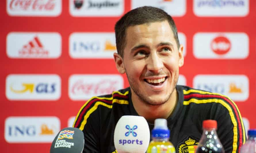Eden Hazard has said he is torn between extending his Chelsea contract and wanting to join Real Madrid.