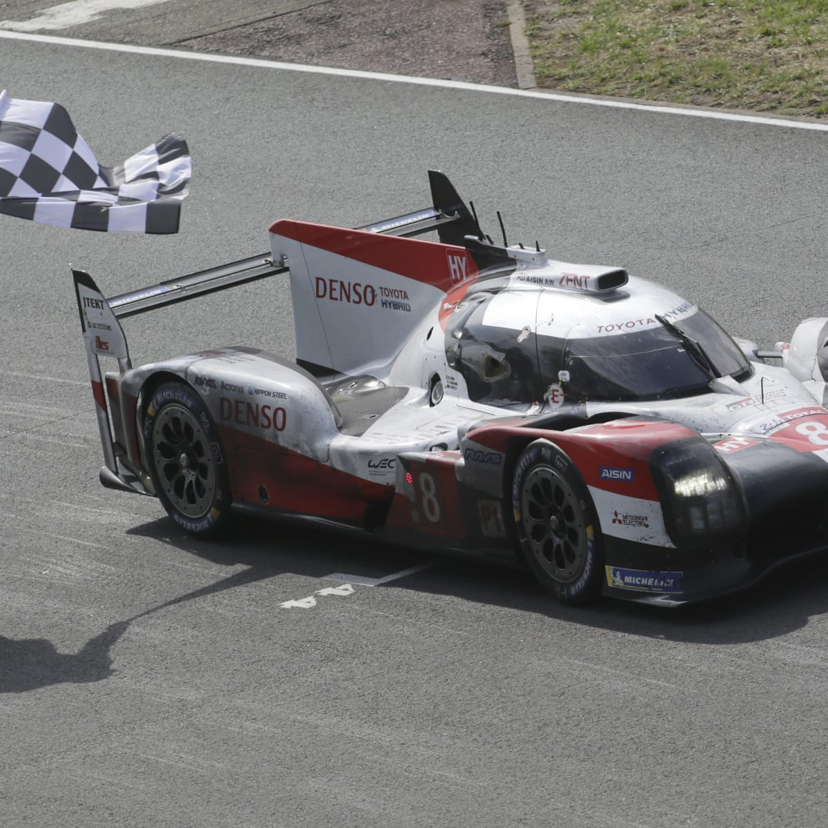 toyota complete hat trick of wins in deserted le mans 24 hours race sport the guardian wins in deserted le mans 24 hours race