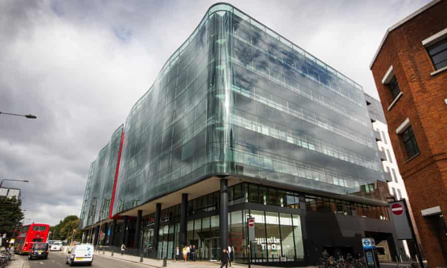 The Guardian's offices in central London.