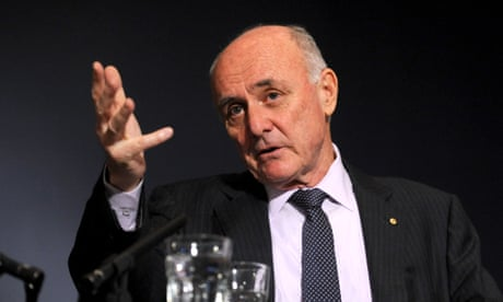 Allan Fels: Australia's consumer crusader on going public about his private life