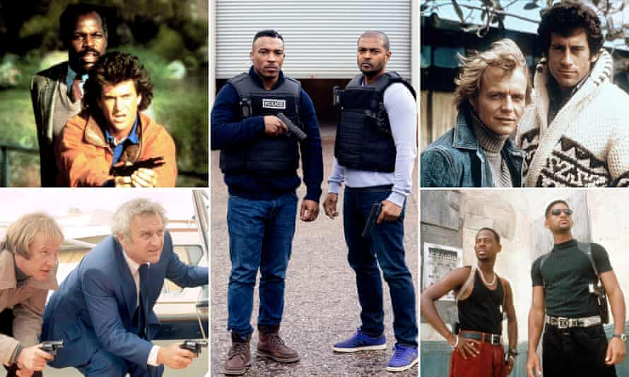 The bill: (clockwise from top left) Lethal Weapon, Bulletproof, Starsky and Hutch, Bad Boys and The Sweeney