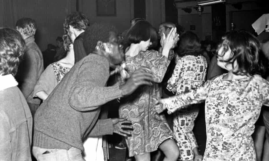 Psychedelic rock concert at the Fillmore Auditorium in San Francisco, 1967.