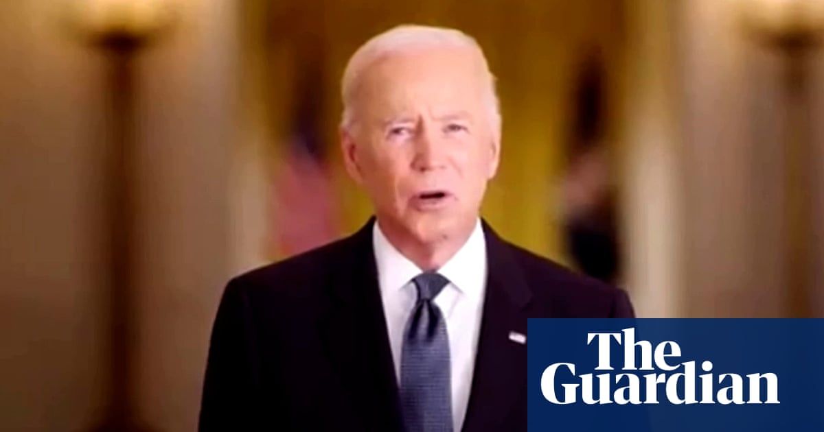 9/11 anniversary: Joe Biden calls for unity as US marks 20 years – video