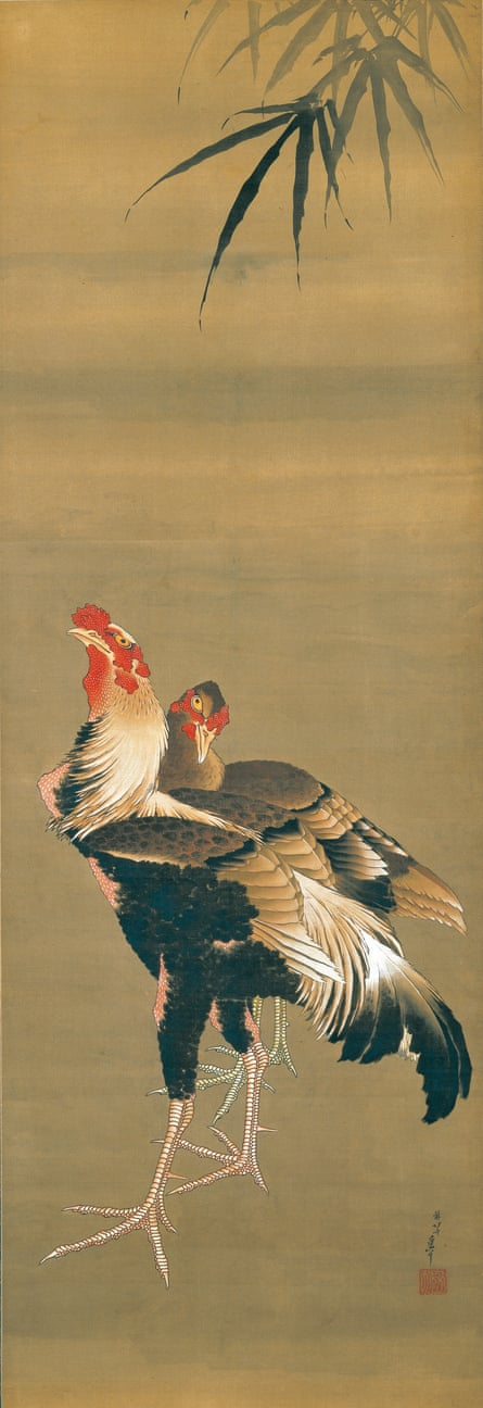 Gamecock and Hen, 1826–34.