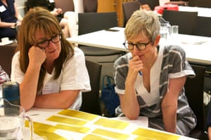 Delegates in the English and Media Centre's session on Reading poetry for pleasure at the Guardian Education Centre Reading for pleasure conference 4 July 2019