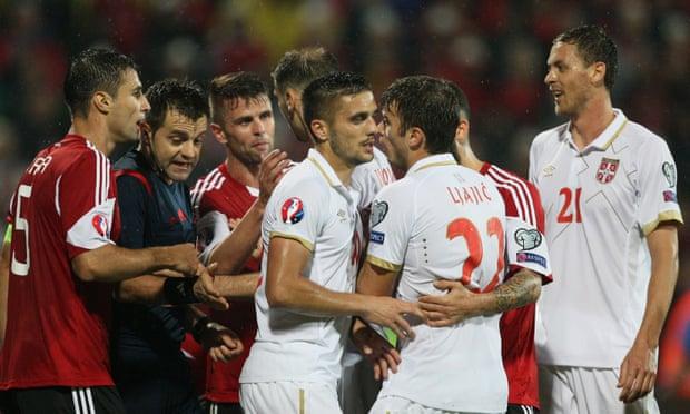 Video: Albania vs Serbia