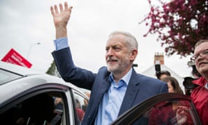Jeremy Corbyn campaigns in Cardiff.