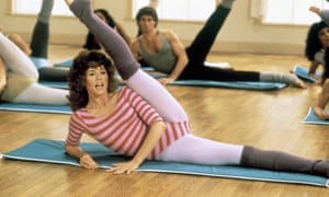 Once upon a time, leggings were associated with the gym and fitness queen Jane Fonda.