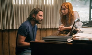 Scene-stealer … Bradley Cooper with Lady Gaga in A Star Is Born.