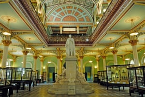Statue of Prince Albert at Bhau Daji Lad Museum (formerly the Victoria and Albert Museum), built in 1872.