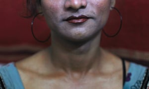 Seema, 33, a transgender woman forced into working on the streets in India