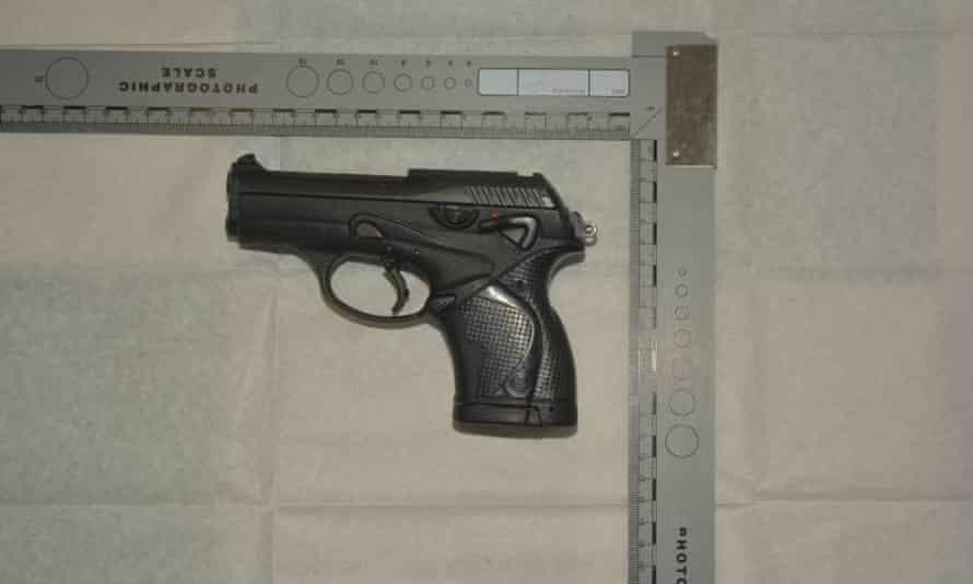 Beretta 9000S self-loading pistol