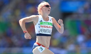Georgie Hermitage won her second gold of the Paralympic Games in a world record time.