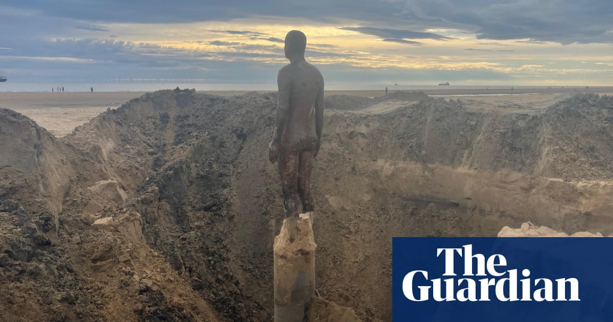 Antony Gormley hopes Crosby statues last 1,000 years after reset