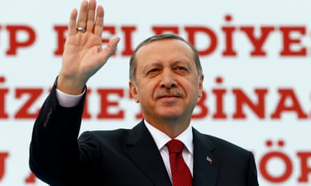 Recep Tayyip Erdoğan was in defiant mood the day after Turkey's prime minister stepped down.