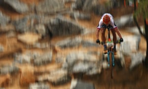 Sagan back on a mountain bike – at the Rio Olympics in 2016.