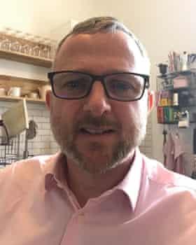 Daniel Wilson, 48, businessowner from Cheltenham.