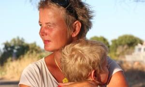 Sigrid and her son Nikolas