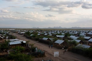The very landscape of the camps makes it very challenging for disabled people to move around and so they are often stranded, 'house-bound' in the small makeshift shelters,