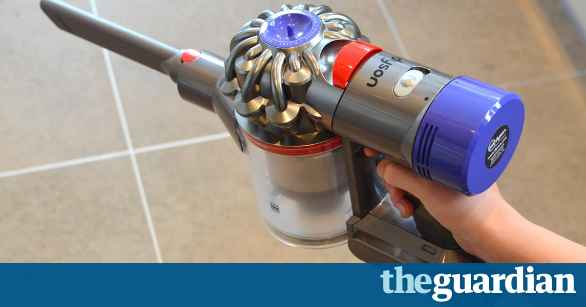 dyson v8 absolute review finally a cordless alternative to an upright technology the guardian. Black Bedroom Furniture Sets. Home Design Ideas