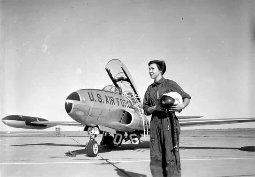 In 1960, aged 21, Wally Funk became the first female flight instructor at Fort Sill, Oklahoma