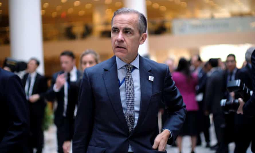 Mark Carney at the IMF and World Bank spring meetings in Washington earlier this month