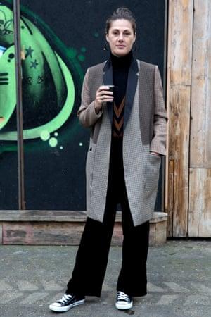 Natalie Hartley, fashion director at Glamour
