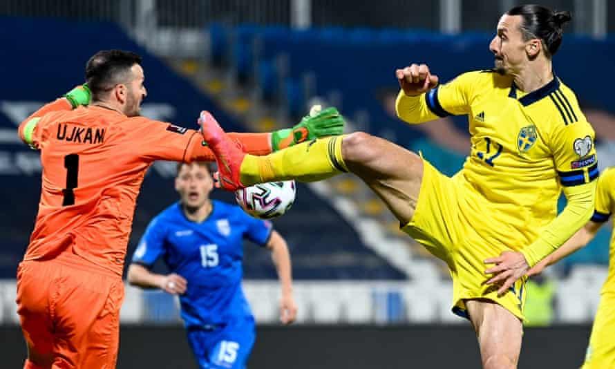 Zlatan Ibrahimovic's return has seen Sweden win both games so far, against Georgia and Kosovo.