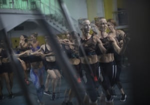 Performers train at the school